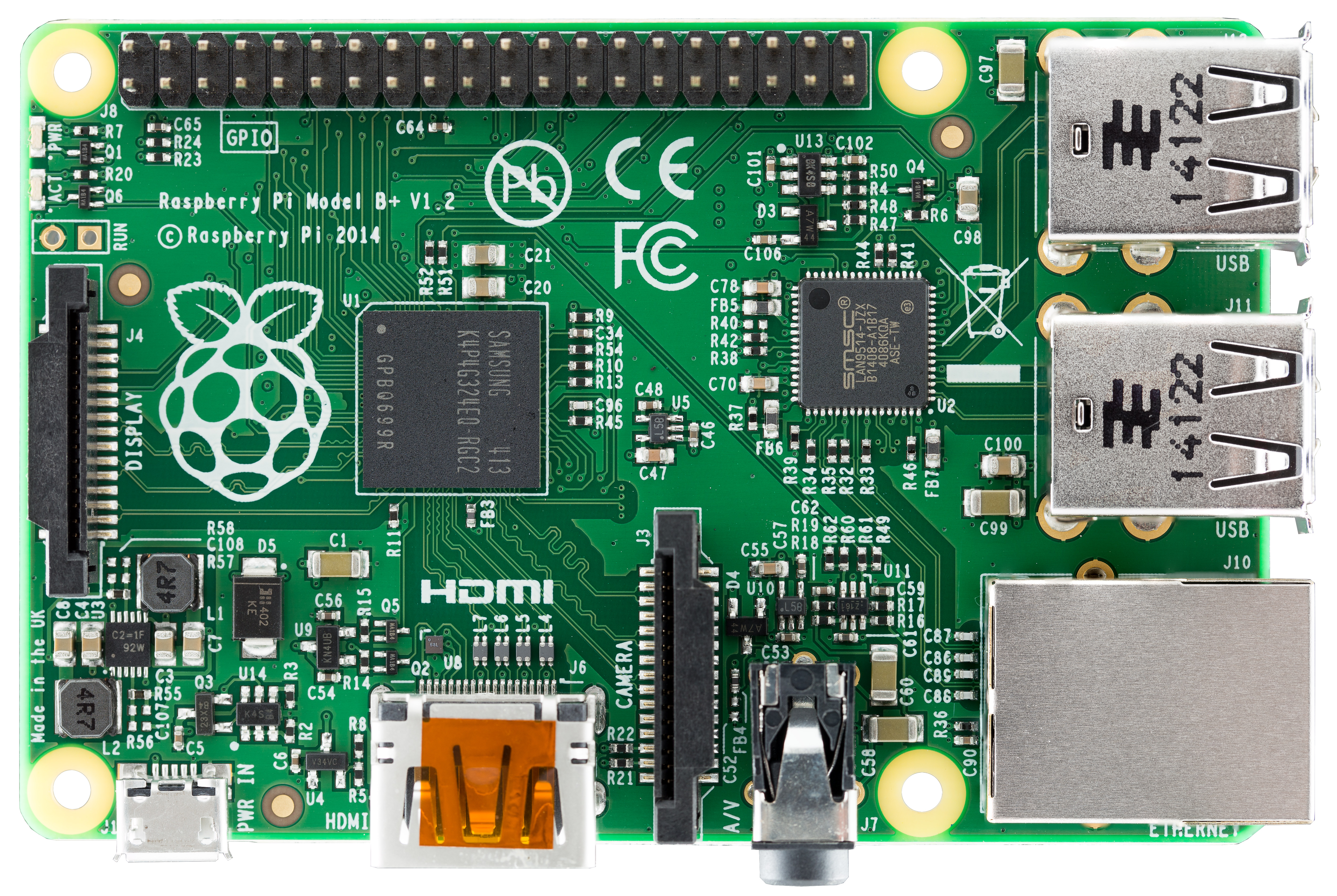 Raspberry PI 1 model B+ 512MB
