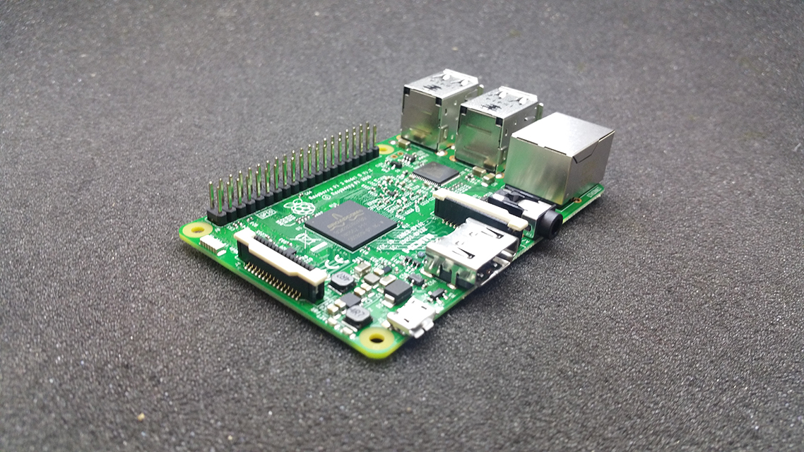 Raspberry PI 3 model B 1GB RAM Wifi BLE