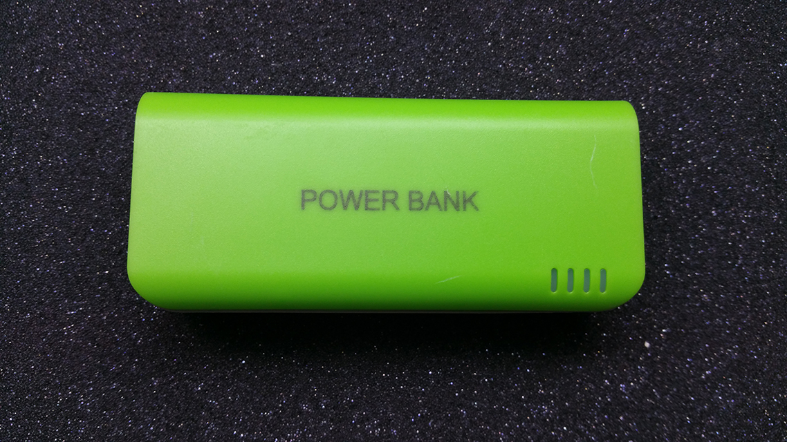 USB Powerbank 5V 4200mAh + LED + indikace
