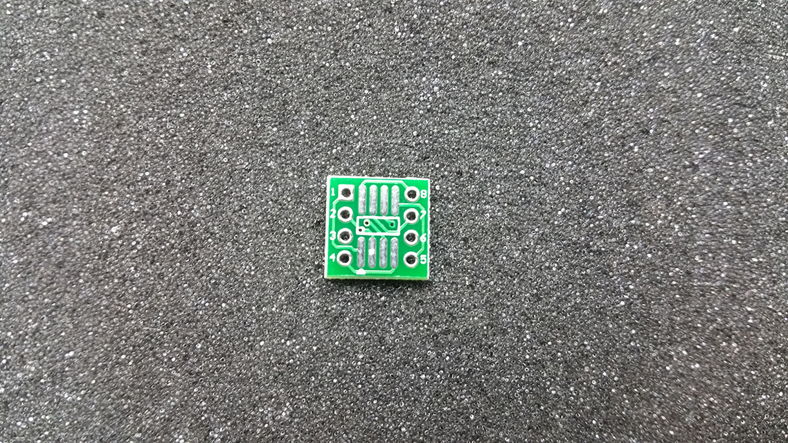 SMD DIP adaptér SO8 SOIC8 TSSOP8